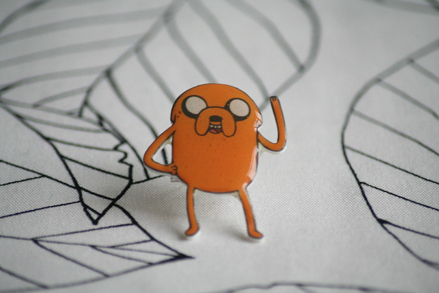 Handmade Jake Adventure Time Brooch