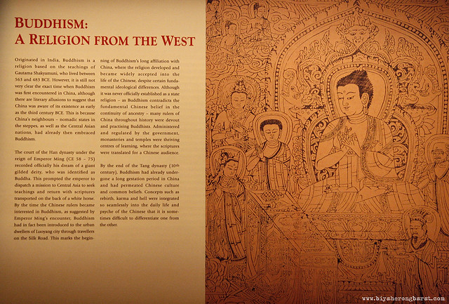 Buddhism a religion from the west