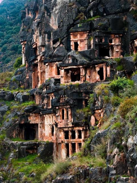 Myra Tombs