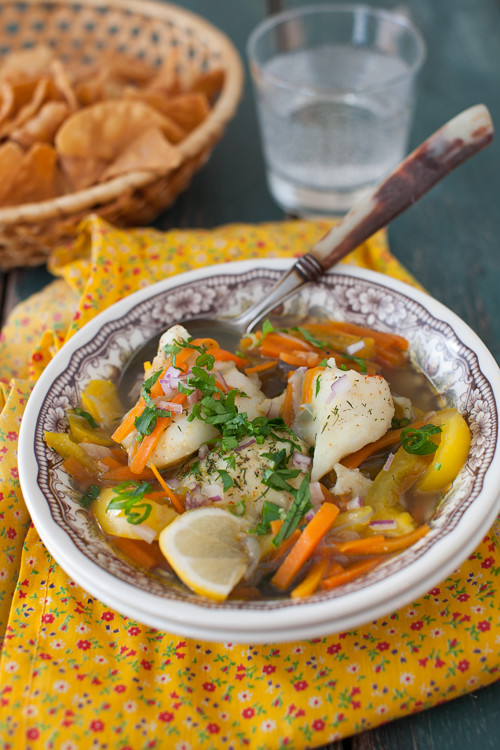 Cod with Vegetables 4