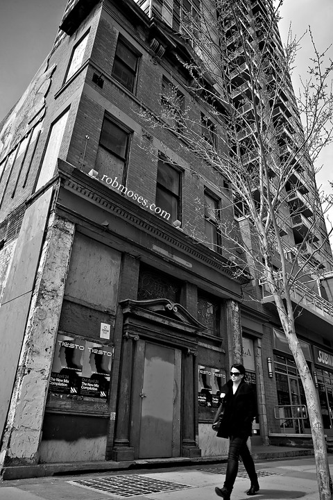 Old new building - People of Calgary Street - Rob Moses Photography