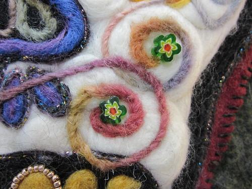 Calavera y Flores-closeup