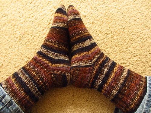 Judy's socks 2012