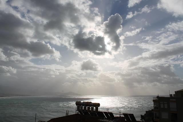 Cloudy morning in Alanya