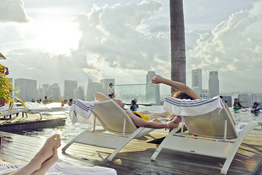 Marina Bay Sands Rooftop