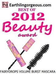 EG Beauty Awards 2012 Fairdrops volume burst mascara