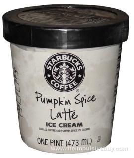 Starbucks Pumpkin Spice Latte Ice Cream