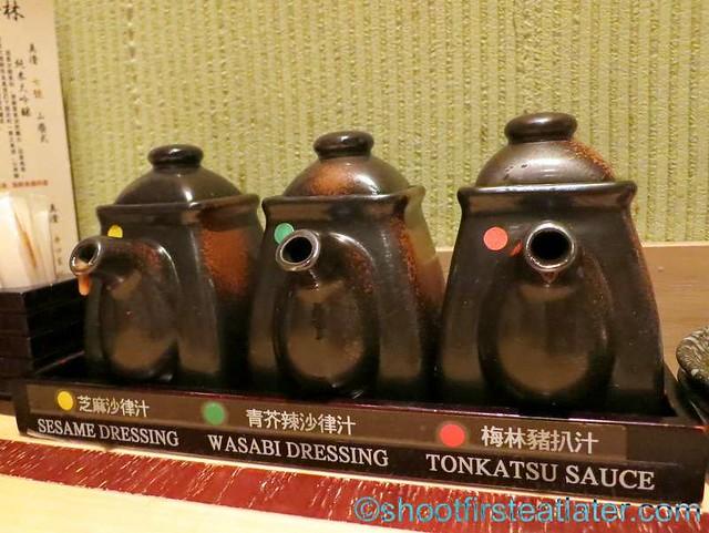 Ginza Bairin HK (K11)- sauces