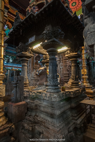 Nandi at Meenakshi Temple