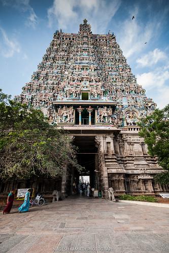 South Gopuram of Meenakshi Temple
