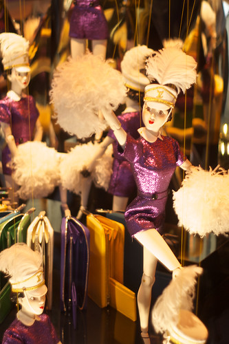 Christmas Windows at the Galeries Lafayette