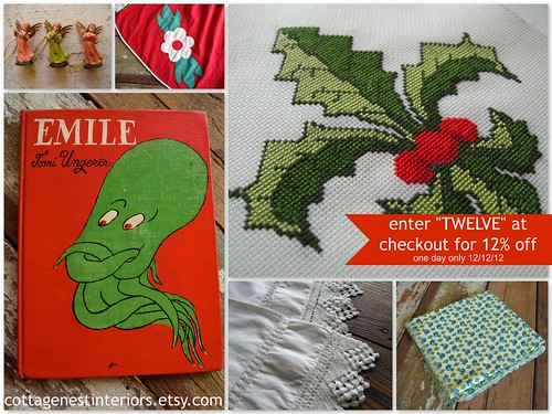 12-12-12 sale on anything and everything in my Etsy shop!