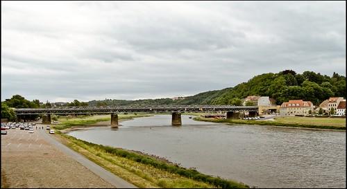Eisenbahnbrücke Meißen