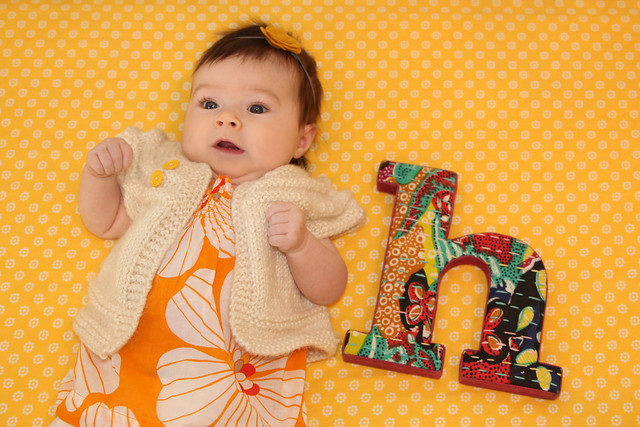 Harper at 3 months
