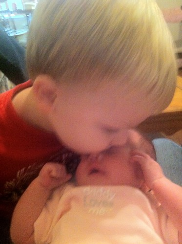 12-18-12 Harley with big brother Adam