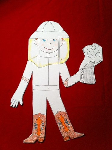 Flat Stanley's Texas Visit