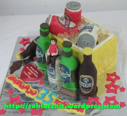 Cake Anker Beer Produk