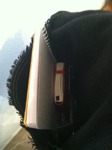 #idearoom in my bag ... this is just the front pocket