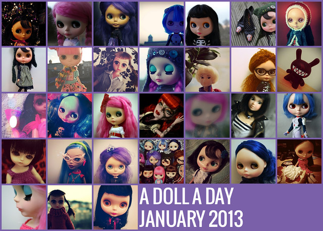 A Doll A Day 2013 - January