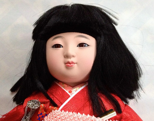 Ichimatsu doll - head