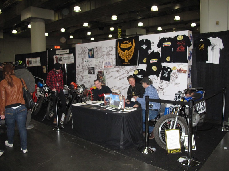 The NYCVinMoto/VJMC Booth