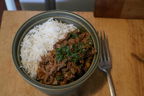 Ropa Vieja Plated
