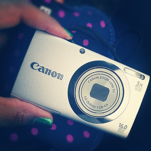 Tired of carrying my dslr all the time I broke down & bought a tiny point & shoot. I forgot how simple cameras can be!