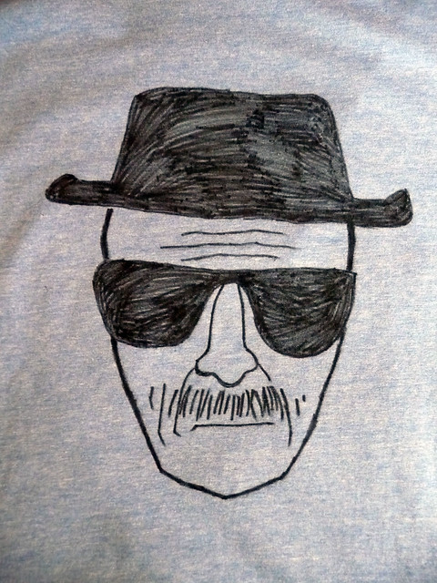 Homemade Heisenberg Breaking Bad Tee