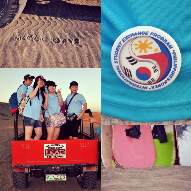 LEAD Movement Ilocos Sandboarding