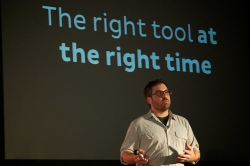 Jason Santa Maria - New Adventures in web design 2013 - The right tool at the right time
