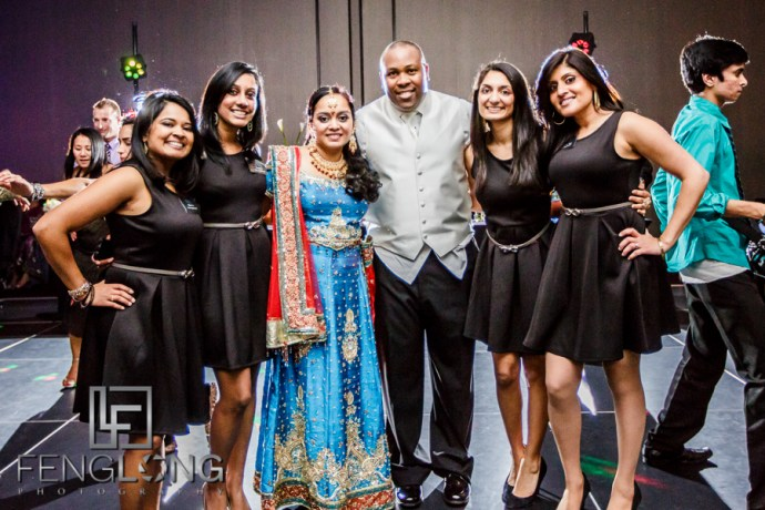 Planning Team reve.ology Events with Bride & Groom | Janella & Chuck's Wedding | Piedmont Church & W Atlanta Downtown | Atlanta Indian Multicultural Wedding Photography