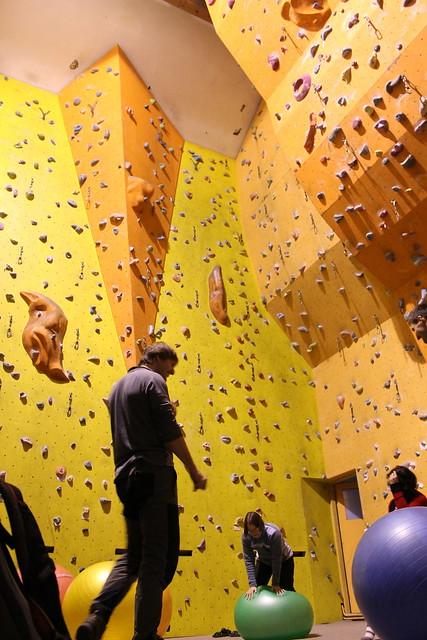 Sokol climbing gym, Mšeno