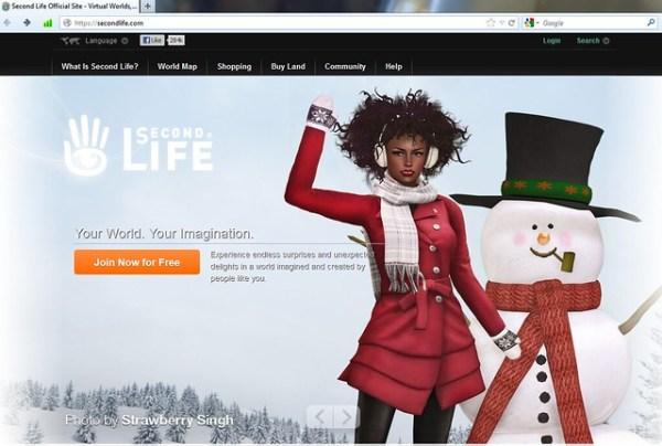SecondLife.com - Winter Holidays