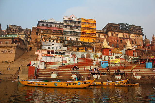 By the Ganges river