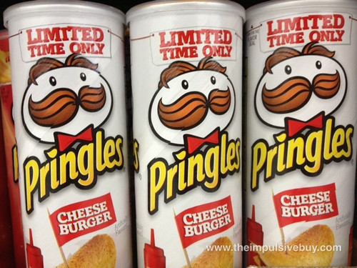 Pringles Limited Time Only Cheeseburger