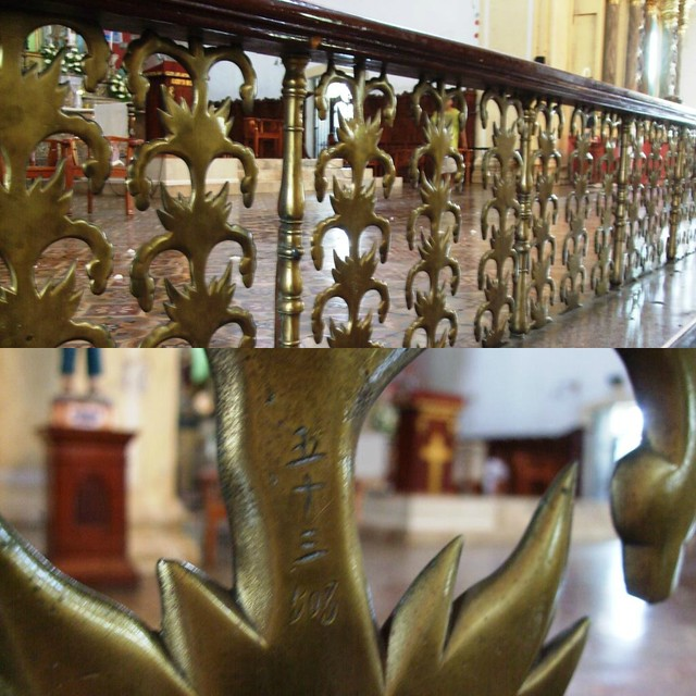 St. Paul Cathedral (Vigan) Communion Rail