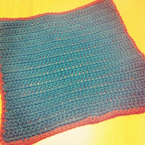 #crochet wash cloth for Sumarrós