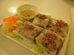 """Vietnamese steamed rice rolls """"Cheung fun"""""""