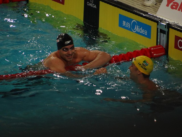 Santos 24.40 and CR at the Istanbul 2012 World Champs