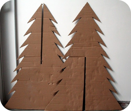 how to decorate my small living room for christmas furniture with storage make a cardboard tree - abfabulies