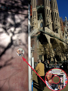 sticker #6 posted in Barcelona