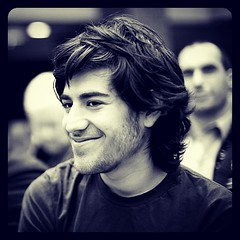 """Be curious. Read widely. Try new things. I think a lot of what people call intelligence just boils down to curiosity."" - Aaron Swartz, hactivist & open-source advocate, RIP"