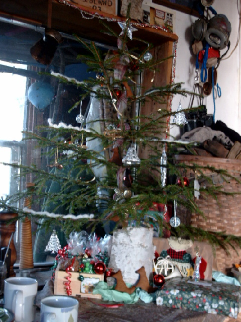 Solstice, Xmas and b'day Tree