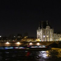 The rising water of River Seine