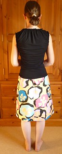 skirt from the back