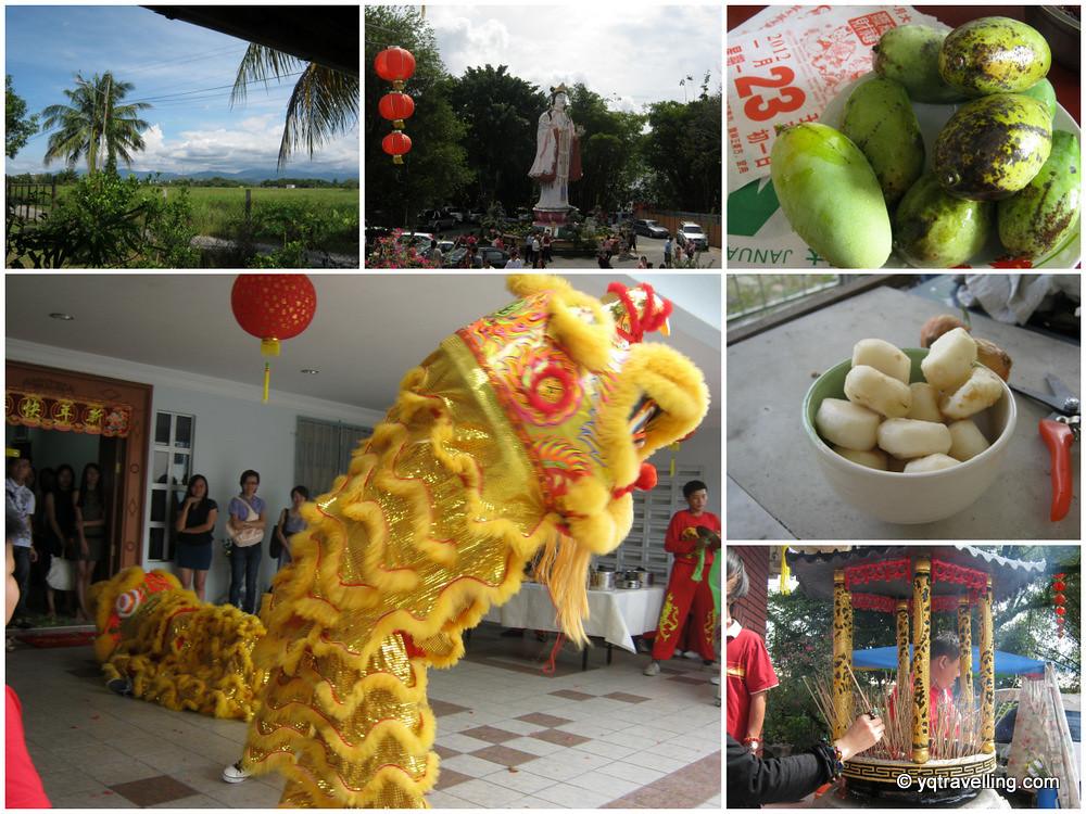 Kota Kinabalu for the Chinese New Year