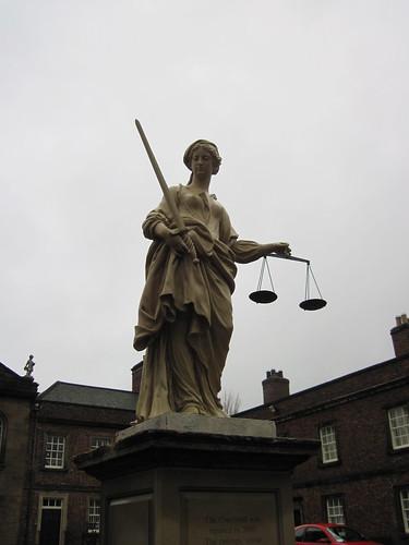 Justice, Kirkleatham Almshouse