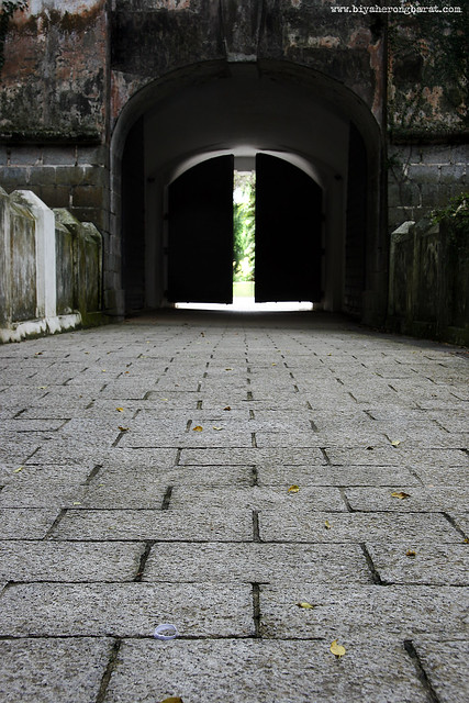 Fort Canning Gothic Gate Singapore