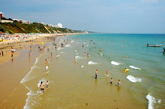 top UK beaches Bournemouth