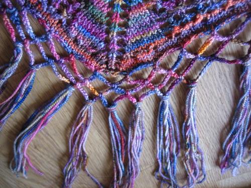Koigu-Mill-Ends-Rosies-Yarn-Cellar-Charlottes-Web-Shawl-Knit